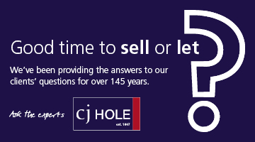 CJ Hole - good time to sell or let?