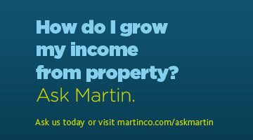 Ask Martin Grow my income