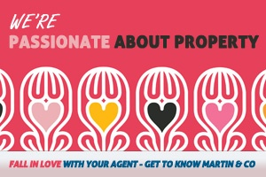 Passionate about property (hearts)